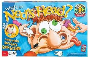 POOF-Slinky 0X2460 Ideal Whats In Neds Kopf Spiel mit 15-Zoll-Pl-sch Kopf