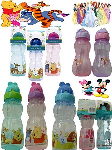 DISNEY-CHARACTERS-TRUSIP-FLIP-STRAW-DRINK-WATER-SIPPER-BOTTLEDRINKS-WATER-JUICE-SIPPER-FOLDING-STRAW-CUP