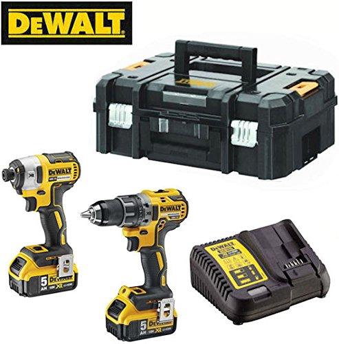 DeWalt DCK268P2T-QW Kit Outils 18 V Jaune/Noir