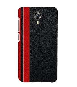 Fiobs Designer Phone Back Case Cover Micromax Canvas Xpress 2 E313 ( Red Blue Super Amazing Pattern Club )