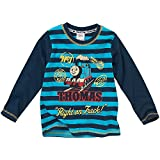 Thomas & Friends Jungen Rechts On Track Striped Long Sleeve Top Gr. 4 Jahre, Gestreift