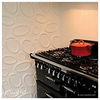 Wall Decor–Paneles 3d Wallart Splashes Dal design moderno Ed accattivante unidades de m².3