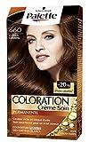 Schwarzkopf - Palette Coloration Permanente Glossy Pralinés Châtain Caramel 660