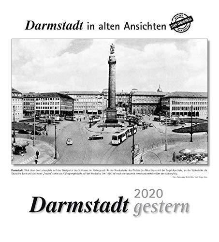 Darmstadt gestern 2020: Darmstadt in alten Ansichten