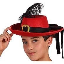 Amazon.es  sombrero de mosquetero 939c0c4600b
