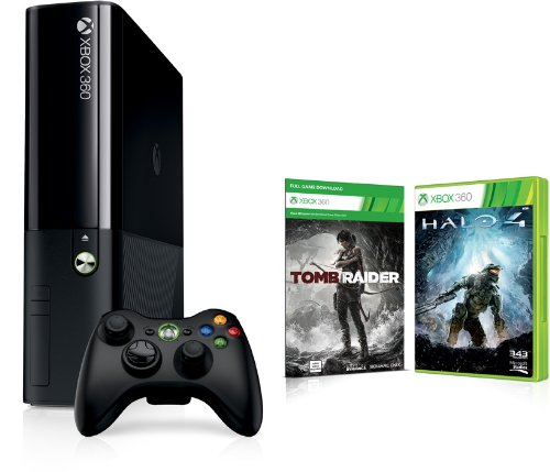 Xbox 360 - 250 GB + Tomb Raider (DLC) + Halo 4 (Xbox One Design ) Xbox 360 Dlc