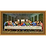 THE MOST WANTED PAINTING OF THE LAST SUPPER OF JESUS CHRIST BY THE MOST ARTIST LEONARDO DA -VINCI IN THE 14TH CENTURY,MOSTLY SCHEDULED FOR MORE CLARITY ,AUTOMATED COMPUTERISED LAMINATED PRINTS BLESSED AND DISTRIBUTED FROM ROME AND ITALY,SPLENDLY RICH ROYA