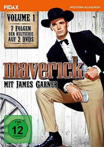 Maverick, Vol. 1 / Sieben Folgen der legendären Westernserie mit James Garner (Pidax Western-Klassiker) [2 DVDs]