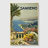 Best REMO Of The Tubes - Big Box Art Vintage Travel Poster San Remo Review
