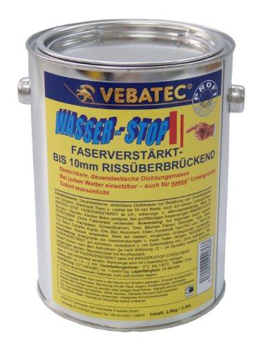 Preisvergleich Produktbild Vebatec Wasser-Stop faserverstärkt 2,8kg (20,35 € / kg)