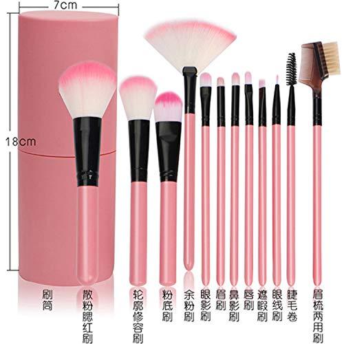 DAMENGXIANG Make-Up-Pinsel 12'S Sets Anfänger Vollständigen Satz Von Make-Up-Tools Foundation...
