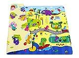 Spielmatte - BABY CARE - Dino Sports - Medium - 1,85m * 1,25m * 12mm