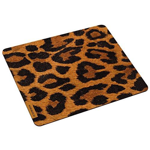 """Wandkings Mousepad / Mauspad mit Motiv \""""Leopardenfell\"""" - ideales Geschenk zum Geburtstag, Weihnachten u.v.m."""