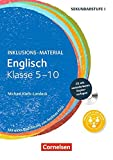 Inklusions-Material: Englisch - Klasse 5-10: Buch mit CD-ROM