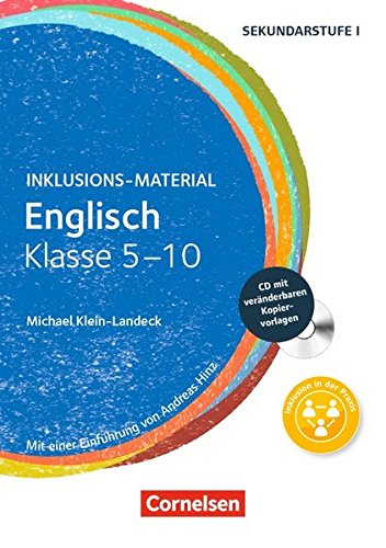 Inklusions-Material: Englisch - Klasse 5-10: Buch mit CD-ROM -