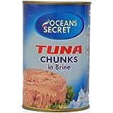 Oceans Secret Tuna Chunks in Brine 425g (Pack of 1)