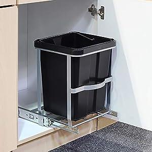 Abfallbehälter Küche Einbau günstig online kaufen   Dein Möbelhaus