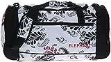 Elephant ® XL Sporttasche 60 cm Sport Tasche Reisetasche / Blumen FLORAL WHITE Weiss