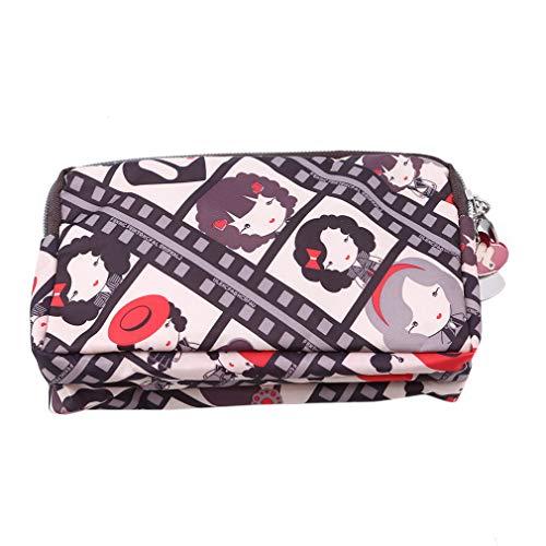 Hengxing Tragbare Reisebrieftaschen Smartphone Wristlets Tasche Kosmetiktasche Kartenhalter Mit Gurt, Shih Tzu