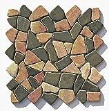 M-007 Marmor Naturstein Bruchsteinmosaik Badezimmer Stein-Mosaik Fliesen Lager Verkauf Herne NRW