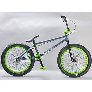 516tuQWKcSL. SS300  - Mafiabikes Kush 2+ 20 inch BMX Bike GREY/GREEN