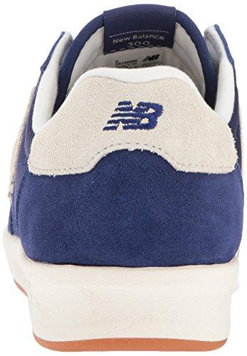 New Balance 300 Suede, Baskets Homme Bleu (Moroccan Blue)