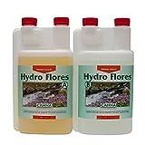 Canna Hydro Flores A + B Set 1Liter hartem Wasser