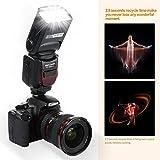 K&F Concept® PRO E-TTL KF590C Slave Speedlite Flash Blitz Blitzgerät