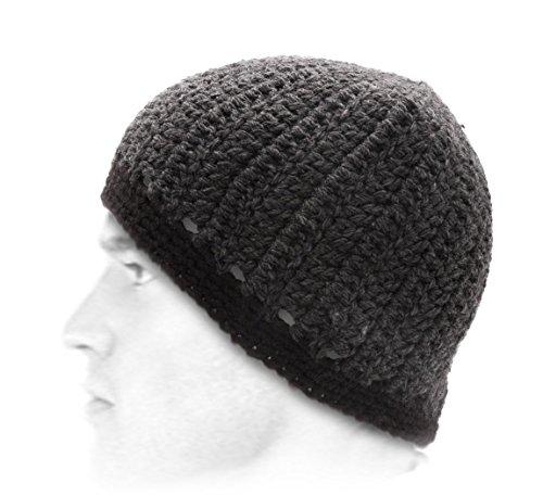 BMC Headwear - Bonnet - 3 Coloris - Homme ou Femme The Vapor - Charcoal-Noir