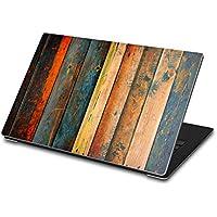 Costodia protettiva per Dell XPS 13 (2015) - portatile notebook ultrabook   Sticker adesivo - protezione computer portatile design ultra skin   Design Wooden