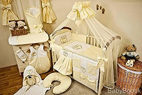Crèche 12pièces, Tour de lit, Parure de lit bébé
