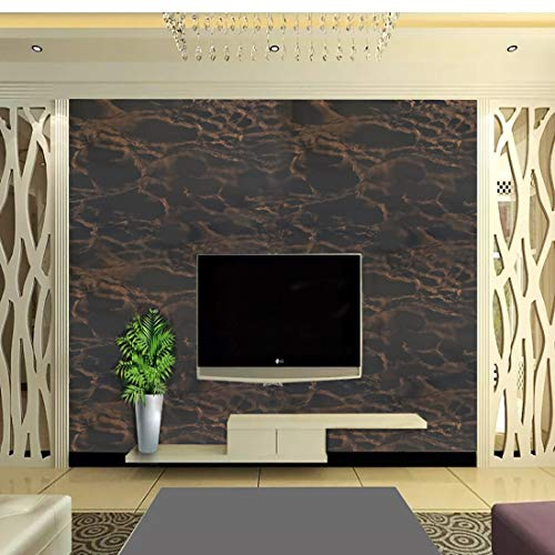 Oren Empower Multipurpose DIY Wallpaper (45 cm x 330 cm, Black)