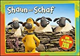 Shaun das Schaf 2019 - Broschürenkalender - Kinder-Kalender - mit Schulferienterminen und Stundenplänen - Format 42 x 29 cm