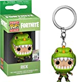 Funko- Pocket Pop Fortnite Llavero de Vinilo con Anilla Rex, (36971)