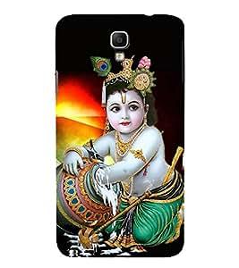 HiFi Designer Phone Back Case Cover Samsung Galaxy Note 3 Neo :: Samsung Galaxy Note 3 Neo Duos :: Samsung Galaxy Note 3 Neo 3G N750 :: Samsung Galaxy Note 3 Neo Lte+ N7505 :: Samsung Galaxy Note 3 Neo Dual Sim N7502 ( Lord Krishna Kanaya )