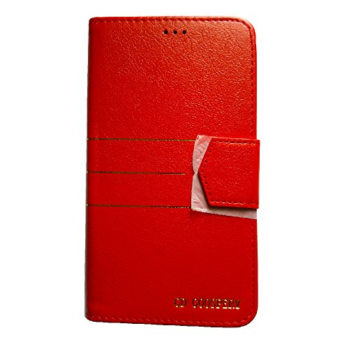 Zocardo TM© Faux Leather Unique Design Wallet Diary Flip Cover Case for iBall Andi 5K Sparkle - Red - Premium Cover with Inner Pocket  available at amazon for Rs.399