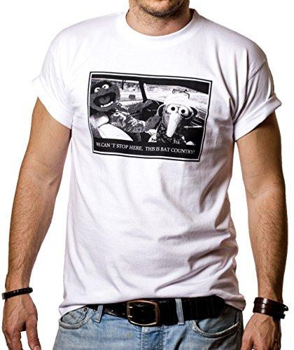 Cooles FEAR AND LOATHING IN LAS VEGAS T-Shirt für Herren Größe XXXL