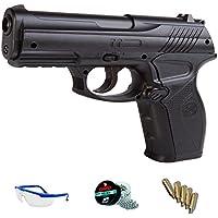 PACK pistola de aire comprimido - Crosman C11 de CO2 balines de acero BBs <3,5J