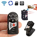 Mini Kamera Wifi Q7 P2P Wireless Night Vision Kamera Vision in Direkt Video Audio cw167