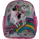 Mickey Mouse Backpack Sac à Dos Enfants, 32 cm, 6400 liters, Blanc (Pink)