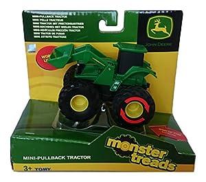 TOMY - 37650a1 - Vehículo Ready - Simple Modelo - Botines Monster Tire hacia atrás - Modelo aleatoria