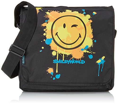Herlitz 11359601 Messenger be.bag SmileyWorld Limited Edition Smileyworld Le