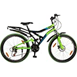 "Hero Sprint 26T Winner 18 Speed Adult Cycle - Black & Green (18"" Frame)"