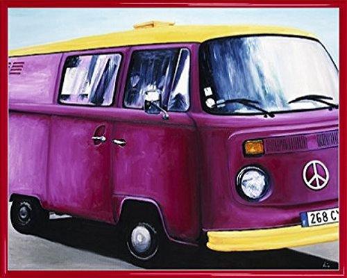 Macchine Stampa D'Arte e Cornice (Plastica) - Volkswagen usato  Spedito ovunque in Italia