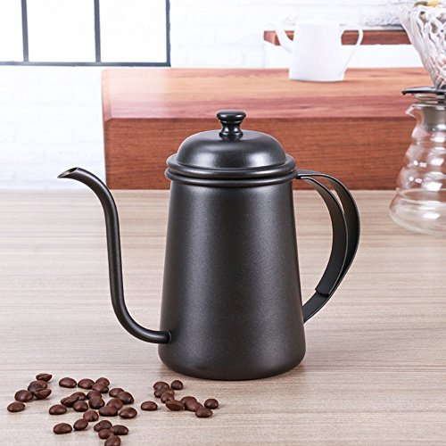 Pour Over Drip Coffee Pot Teakettles 22OZ-BEMINH Premium Stainless Steel Easy Stable...