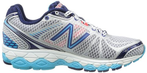 New Balance  W880CY3, Chaussures de Running Compétition femme Grey with Blue