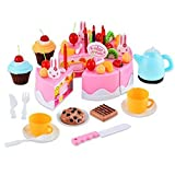 Smartcraft Magical Birthday Cake Play Set Pretend Play Toy with Sound and Light , Tea Party , Birthday Party Play Set , Role Play Toys for kids