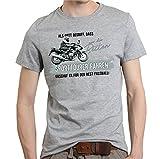 Siviwonder Gott Besten SPORTTOURER Fahren Vintage Bike No Fußball Tourenmaschine Motorrad - Unisex T-Shirt Shirt Sports Grey 3XL