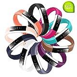 Fit-power Bracelet de remplacement en silicone pour montres Fitbit Alta HR et Alta...