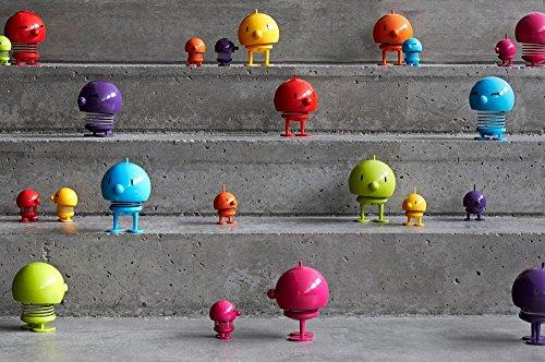 Baby Hoptimist Bimble, piccolo, bambina con Sorrisi occhi, decorazione - / gioco idea, in Plastica, Colore Rosso, 2003-41 Turquoise